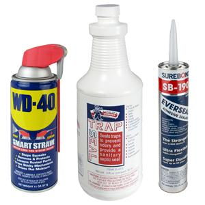 Sealants, Glue, & Lubricants