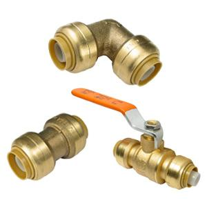 Push-Fit Copper Fittings