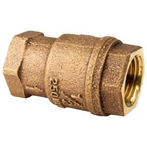 In-Line Bronze Check Valves