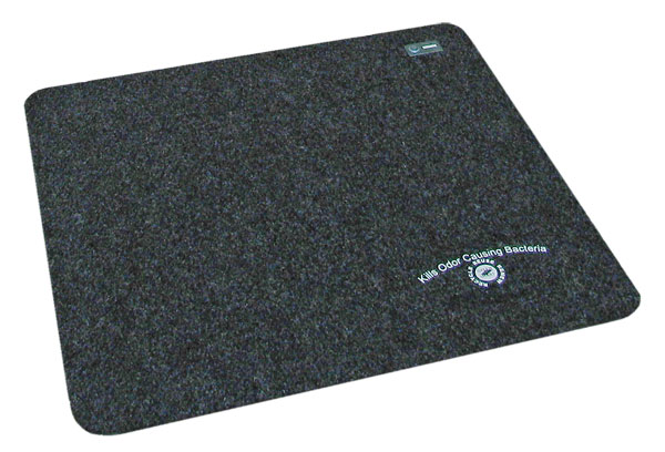 ANTIMICROBIAL URINAL MAT W/ADHESIVE STRIP