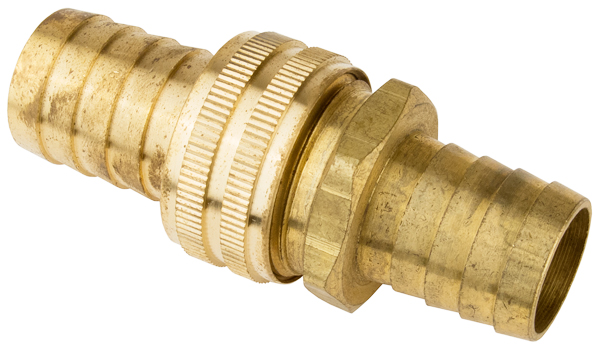 3/4 HVY BRASS HOSE COUPLER SET