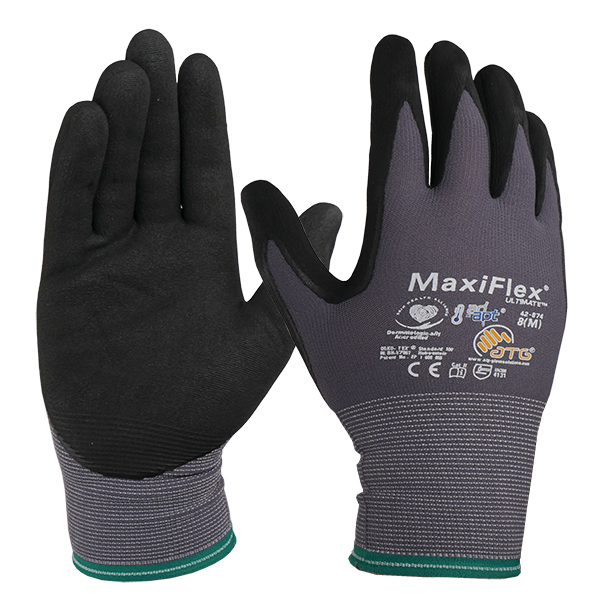 MAXIFLEX ULTIMATE GLOVES - MED (PR) WITH AD-APT TECHNOLOGY