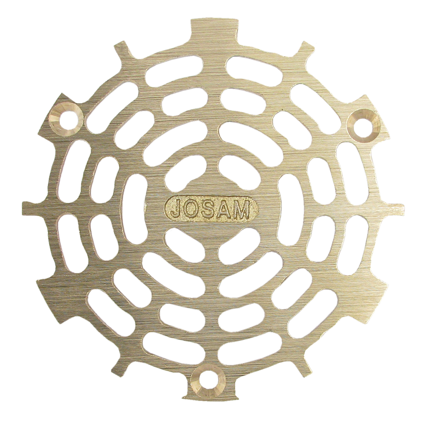 "4-5/8"" SATIN BRONZE STRAINER"