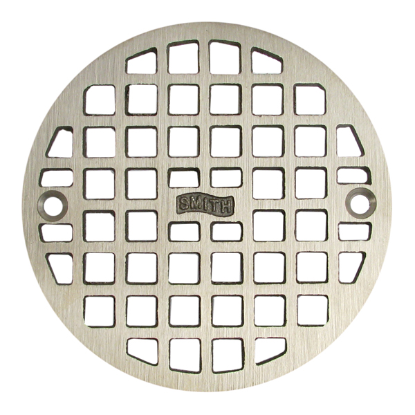 "4-5/8"" ROUND REPLACEMENT GRATE W/SCREWS"