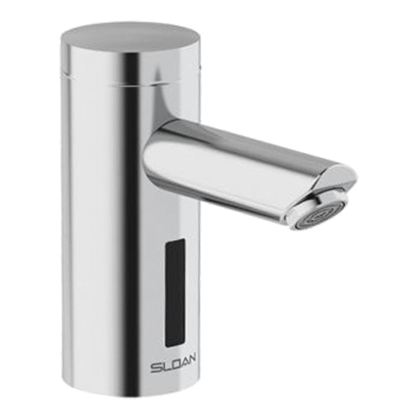 OPTIMA MID BODY SINGLE HOLE SENSOR FAUCET 0.5 GPM W/ INTEGRATED THERMOSTATIC MIXER