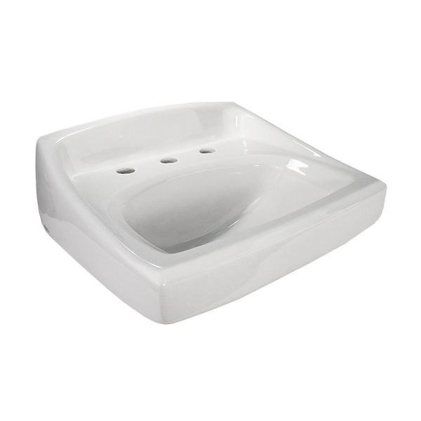 "8"" CENTERS LAVATORY SINK WALL HUNG"