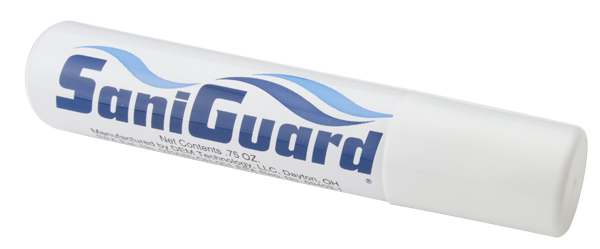SANIGUARD SANITIZING SPRAY .75 OZ