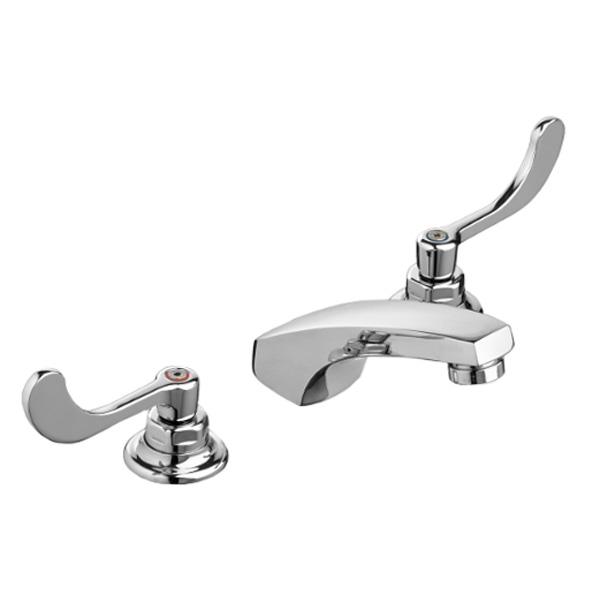 "CP 6"" TO 12"" WIDESPREAD LAV FAUCET 1.5 GPM W/ WRIST BLADE HANDLES L/ POP-UP"