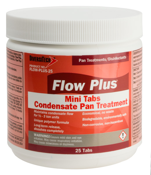 FLOW-PLUS CONDENSATE PAN TREATMENT TABLETS (25 CT)