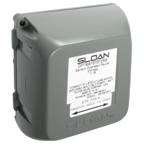 Electronic Faucets | Sloan Control Module | Equiparts