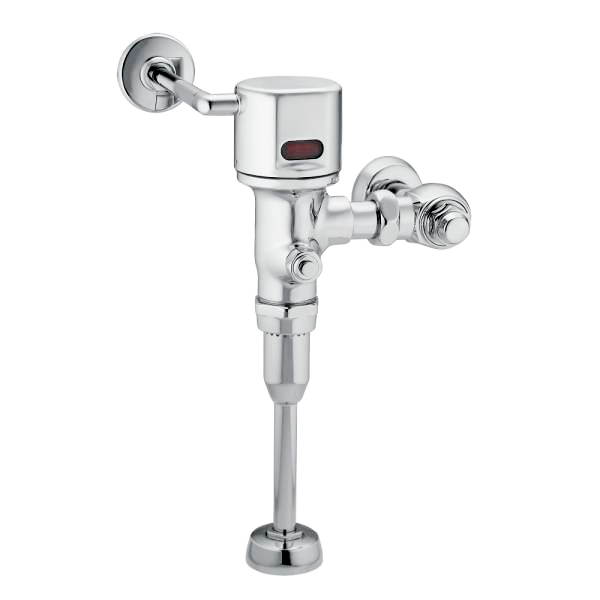 "M-POWER CHROME ELECTRONIC FLUSH VALVE 3/4"" URINAL 0.125 GPF AC POWERED"