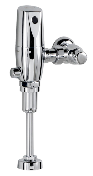 SELECTRONIC EXPOSED URINAL FLUSHOMETER 0.25 GPF W/ PWRX BATTERY