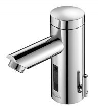 OPTIMA LINO FAUCET 0.5 GPM W/ TEMP CONTROL AND I.Q. CLICK BATTERY POWERED