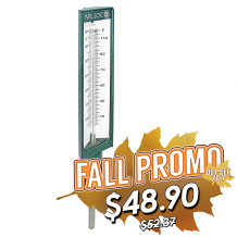 """9"""" 0-120F ADJUSTABLE THERMOMETER-3-1/2"""""""