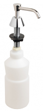 "BASIN SOAP DISPENSER WITH 6"" SPOUT"