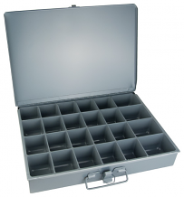 24 COMP STEEL STORAGE CASE