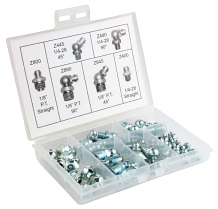 STANDARD GREASE FITTING KIT (35 PC)