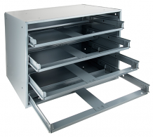 LARGE STEEL SLIDE RACK