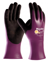 MAXIDRY PURPLE GLOVES - SM (PR)