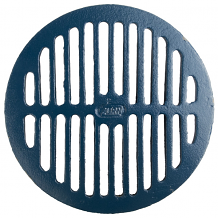 "8"" x 7/16"" THICK CAST IRON REPL DRAIN GRATE"
