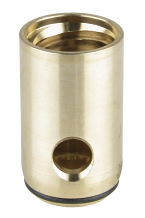 LH BRASS STEM BARREL