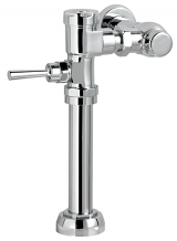 "EXPOSED MANUAL FLUSHOMETER FOR 1-1/2"" TOP SPUD BOWLS 1.6 GPF"