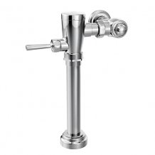 "M-DURA CHROME MANUAL FLUSH VALVE 1-1/2"" WATER CLOSET 1.6 GPF"