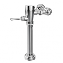 "M-DURA CHROME MANUAL FLUSH VALVE 1-1/2"" WATER CLOSET 1.28 GPF"