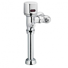 "M-POWER CHROME ELECTRONIC FLUSH VALVE 1-1/2"" WATER CLOSET 1.0/1.6 GPF BATTERY POWERED"