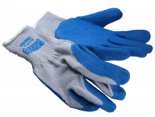 COATED COTTON/POLY GLOVES MED