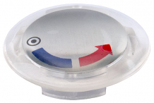 PLUG BUTTON W/ INSERT FOR LUCITE HANDLE