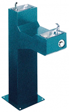 HALSEY TAYLOR - OUTDOOR DRINKING FOUNTAIN - BI-LEVEL PEDESTAL