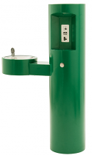 MURDOCK - BARRIER-FREE ROUND PEDESTAL FOUNTAIN W/ BOTTLE FILLER