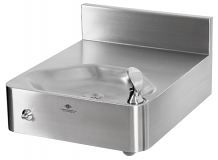MURDOCK - STAINLESS STEEL DRINKING FOUNTAIN FOR REAR MOUNT