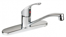 SINGLE HANDLE KITCHEN FAUCET LESS SPRAY