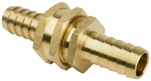 5/8 HVY BRASS HOSE COUPLER SET