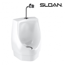 RETROFIT HYBRID WATERLESS URINAL W/BRACKET