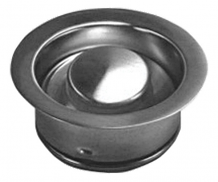 GARBAGE DISPOSAL STOPPER - POLISHED STAINLESS