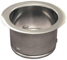 GARBAGE DISPOSAL SINK FLANGE - POLISHED STAINLESS