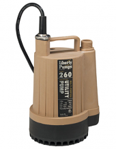 260-SERIES UTILITY PUMP 1/6 HP 115V