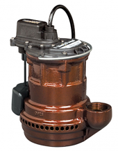 1/4 HP CAST IRON SUBMERSIBLE SUMP PUMP