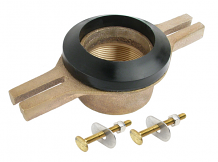 BRASS THREADED URINAL FLANGE