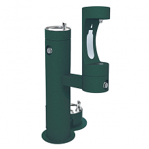 ELKAY - OUTDOOR EZH2O BOTTLE FILLING STATION BI-LEVEL W/PET STATION