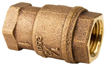 "1/2"" FNPT X FNPT IN-LINE BRONZE CHECK VALVE"
