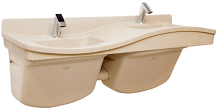 2-BOWL FREQUENCY LAVATORY SYSTEM - (RIGHT SIDE-HIGH)