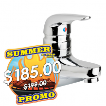 "4"" LAV FAUCET 1.5 GPM W/ TEMPSHIELD SCALD PROTECTION"