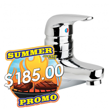 "4"" LAV FAUCET 0.5 GPM W/ TEMPSHIELD SCALD PROTECTION"