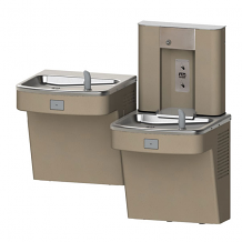 BI-LEVEL ADA WATER COOLER WITH BOTTLE FILLER (FLEXIBLE BUBBLER)
