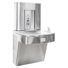 BARRIER FREE WATER COOLER 8 GPH W/ SENSOR BOTTLE FILLER STAINLESS STEEL