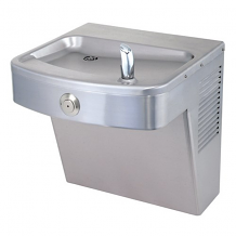 BARRIER FREE WATER COOLER 8GPH SS VANDAL RESISTANT